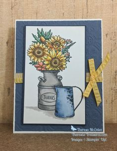 Up Halloween, Halloween Cards, Sunflower Cards, Beautiful Handmade Cards, Fall Cards, Stamping Up, Homemade Cards, Stampin Up Cards, Thank You Cards