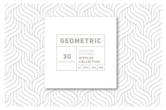 Rippled Seamless Patterns Bundle v…