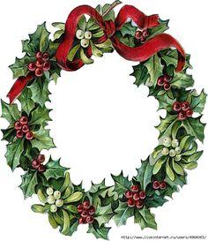 Christmas Wreath Clip Art - Clipart Suggest Christmas Wreath Illustration, Christmas Wreath Clipart, Pink Christmas Decorations, Christmas Card Crafts, Christmas Graphics, Christmas Drawing, Christmas Paintings, Christmas Art, Christmas Wreaths