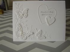Butterfly Wedding by ShariEric - Cards and Paper Crafts at Splitcoaststampers