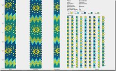 Mooi patroon en kleuren