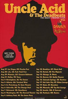 Uncle Acid And The Deadbeats Announces US Tour Dates #uncleacid #theshrine #danavaband