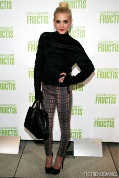 89e93a2cc457 Ashlee Simpson at Garnier Fructis Celebrates the Start of NY Fashion Week  and the Opening of