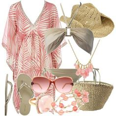 there are so many cute coverups and other options to wear to the beach. If you're stumped for what to wear to the beach or just want a li. Source by modesta_temba vacation outfits Beach Vacation Outfits, Vacation Style, Summer Outfits, Cute Outfits, Vacation Wear, Fashion Tips For Women, Passion For Fashion, Womens Fashion, Ladies Fashion