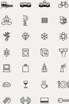 Discover more of the best Icons, Icon, System, Picto, and Iconography inspiration on Designspiration Web Design, Icon Design, Logo Design, Flat Design, Logo Sketch, Best Icons, Ui Design Inspiration, Tattoo Inspiration, Design Graphique