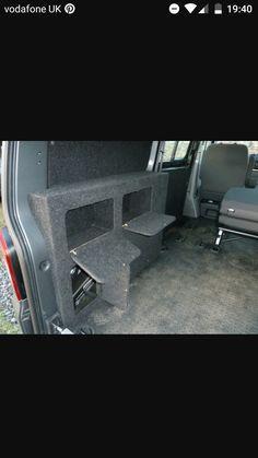 Day of conversions - Home Decoration Van Conversion Campervan, Vw Camper Conversions, Van Conversion Layout, Hiace Camper, Car Camper, Vw Transporter Van, Vw T5, Vw Caddy Maxi, A Team Van
