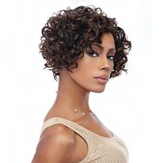Cabelo que eu quero Short Curly Weave, Short Curly Haircuts, Curly Weave Hairstyles, Short Hair Cuts, Black Hairstyles, Bob Weave, American Hairstyles, Pixie Haircuts, Pixie Cuts