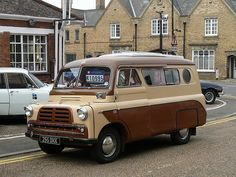Vintage Car - Bedford Campervan [255 DKK] 110903 Thorney