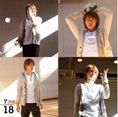 Ueda Tatsuya ; KAT-TUN Calendar : 07/18