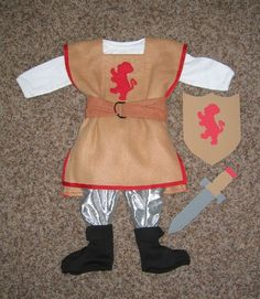 boys costumes to make at home | Itty-bitty Gentleman Knight « A Little Bit of Adventure