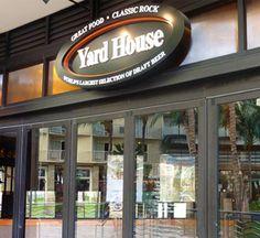 Yard House Long Beach Drink Menu