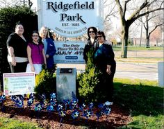 As advocates for children, the Woman's Club of Ridgefield Park, New Jersey participated in the Pinwheels for Prevention campaign as part of Child Abuse Prevention Month