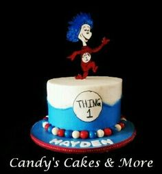 Dr. Suess smash cake