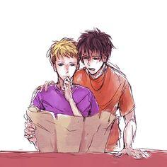 Percy and Jason