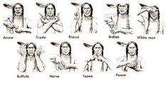 A sign language which is also known as signed language is a language which uses manual communication, body language and lip movements instead of sound to express meaning. The sign language is the one simultaneously combining hand move Native American Cherokee, Native American Symbols, Native American Quotes, Native American Crafts, Native American History, American Indians, American Women, Indian Symbols, Mayan Symbols
