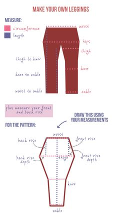 Make your own DIY leggings