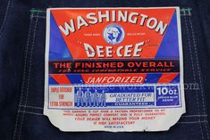 vintage workwear: Washington and Lincoln: Presidents Day 2012