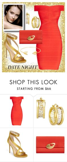"""""""Date Night..."""" by sweetadry ❤ liked on Polyvore featuring Hervé Léger, Imagine by Vince Camuto, Chanel, MANGO and Lord & Taylor"""