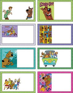 scooby doo printables - Google Search