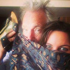 Alan Rickman With Ruby Wax's Daughter Madeleine