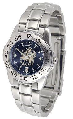 Ladies Georgetown Hoyas - Sport Steel AnoChrome Watch