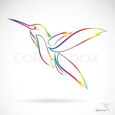 If either one of my grandmothers pass away before my next tattoo this will be it. The both love hummingbirds