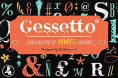 Gessetto Family (9 fonts) 60% off @creativework247