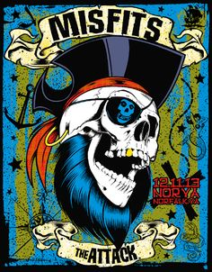 GigPosters.com - Misfits - Attack, The
