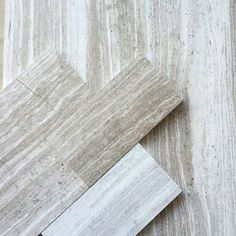 Timber White Marble 3x6 Subway Tile - contemporary - Tile - New York - All Marble Tiles