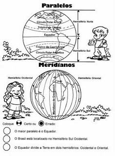 ATIVIDADES DE GEOGRAFIA 4° ANO FUNDAMENTAL EXERCÍCIOS IMAGENS PARA IMPRIMIR VIII | PORTAL ESCOLA