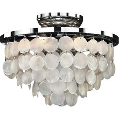 Glow Lighting Bayside 6 Light Flush Mount
