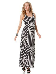 $29.99 Sleeveless Belted Maternity Maxi Dress