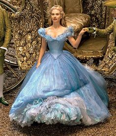 """13 March 2015 (US/UK) — Lily James as 'Ella/Cinderella' in a ballgown in """"Cinderella"""" by Kenneth Branagh 💠 Based in the French story """"Cendrillon"""" by Charles Perrault Cinderella 2015, Cinderella Gowns, Cinderella Movie, Cinderella Wedding, Cinderella Birthday, Ball Dresses, Ball Gowns, Prom Dresses, Wedding Dresses"""