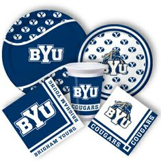 BYU Party Supplies from www.DiscountPartySupplies.com