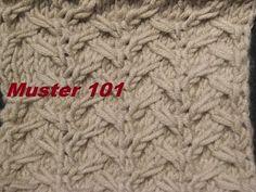 Muster 101* Stricken lernen*Muster für Kinder Socken*Mütze*Tutorial - YouTube