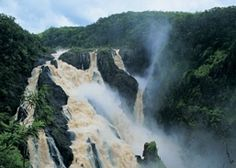 Barron Gorge and the magnificent falls. View these at Kuranda, between Mareeba and Cairns.