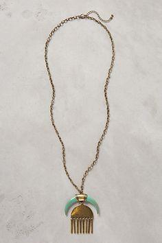 Moonchime Pendant Necklace #anthropologie