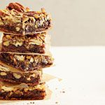 German Chocolate-Pecan Pie Bars Recipe | MyRecipes.com