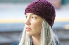 Conundrum Knitted Hat - via @Craftsy