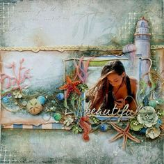 NEW! Kit & Video Tutorial for The Scrapbook Diaries!