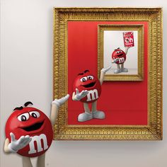 M&M's Canada - A moment like this deserves a double (or triple) take. – Red
