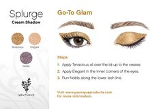 Need a little glam in your life? Give this stunning look a try.