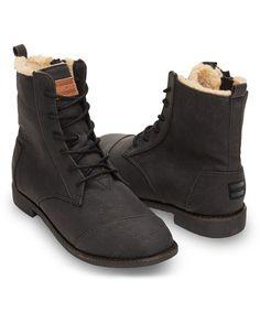 Look at this #zulilyfind! Black Alpa Classic Leather Boot #zulilyfinds