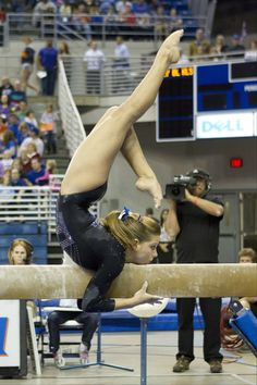 Mackenzie Caquatto, 19, of Naperville, is a member of the U.S. women's senior gymnastics team. She is a sophomore at the University of Florida.