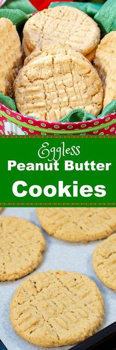 Best Old Fashioned Eggless Peanut Butter Cookies are simple homemade peanut butter cookies made withno eggs but taste just like the classic peanut butter cookies you remember from your childhood. Homemade Peanut Butter Cookies, Classic Peanut Butter Cookies, Chocolate Chip Shortbread Cookies, Toffee Cookies, Cookie Flavors, Chip Cookie Recipe, Cookie Recipes, Dessert Recipes, Bar Recipes