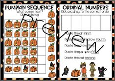 From Seed to Pumpkin! Poetry Anchor Chart, Anchor Charts, Pumpkin Life Cycle, Ordinal Numbers, Nouns And Adjectives, Word Work Centers, Types Of Sentences, Realistic Fiction, Word Work Activities
