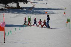 Bimbi sugli sci!