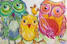 Original Art - Anna Bartlett - Shiny Happy Artist Toowoomba Queensland Australia