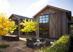 Kenzo Estate Tasting Room - contemporary - patio - san francisco - by Schmitt + Company/Poor House