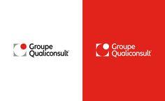 Groupe Qualiconsult - Brand design on Behance